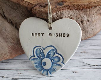 Best wishes gifts Wedding gift tag Best wishes Engagement Gift for couple Gift tags Ceramic ornament Best wishes for mr and mrs