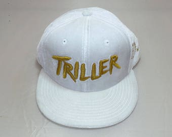 Snapback Flat-Brim Hat - Triller (One-of-a-kind)
