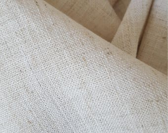 NATURAL LINEN BLEND Woven Drapery Upholstery Fabric, 11-47-02-0617
