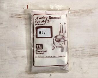 Purple Liquid Enamel, Hyacinth, Thompson Enamel, Liquid Enamel, Powdered Glass, Enameling Supplies, Kiln Enamel, Torch, 1 oz. sample enamel
