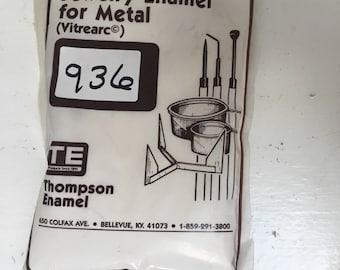 Beige Enamel, Thompson Enamel, Liquid Enamel, Powdered Glass, Enameling Supplies, Kiln Enamel, Torch Enamel, 1 ounce sample enamel