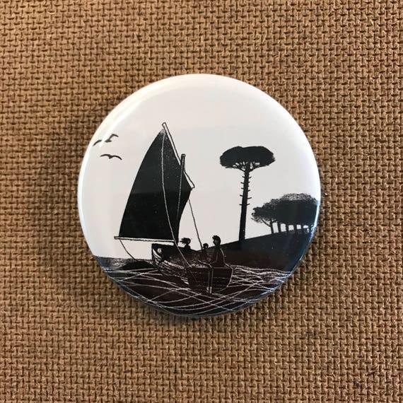 Wildcat Island - Fridge Magnet