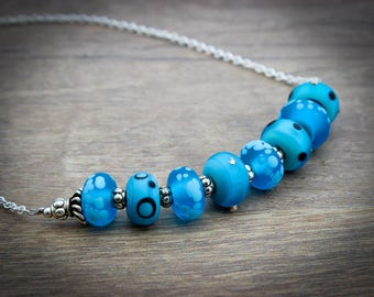 Blue Necklace for Her