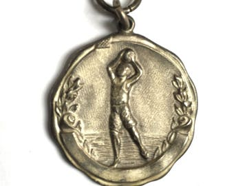 1928 Chicago Sterling Silver Basketball Champions Medal