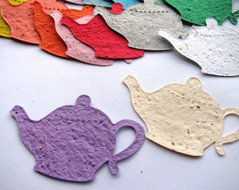 85 Seed Paper Teapots