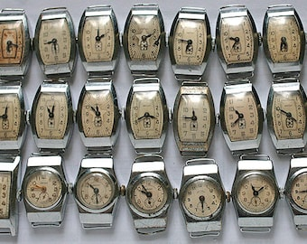 "lot of 21 pieces of women's watches ""Star"" from the USSR."