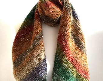 scarf hand knitted