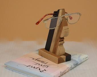 Eye Glass Holder - Mr. Nose Office Accessory - Home Decor