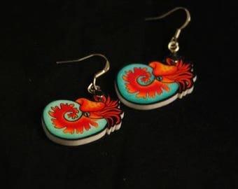 Cephalopod Earrings