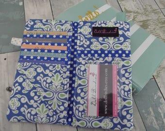 Dollbirdies Original Traveler Notebook Passport Wallet Pouch Insert, Midori Pouch Insert, Faxudori Pouch Insert, Travel Wallet