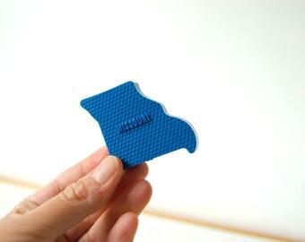 Misouri Magnet - Vintage State Magnet - State Souvenir - Plastic Magnet - Missouri State Gift - United States Magnet Gift - Teacher Gift