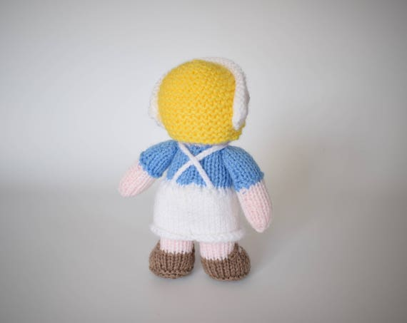 Wendy Knitting Patterns For Dolls : Nurse Wendy doll knitting pattern from fluffandfuzz on ...