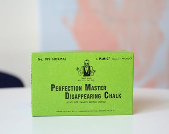 Perfection Master Disappearing Chalk Box of 36
