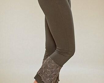 BIG SUMMER SALE 25% Off Net Leggings - Yoga Pixie Pants - burning man tights - women clothing - goa trance