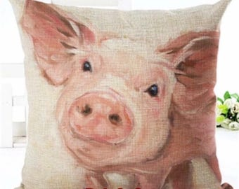 Pig Pillow Case