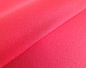 Japanese pure silk cloth from Kyoto Red No.47-2