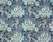 SALE : Homestead Wildflower blue Juliana Horner Fabric Traditions  FQ or more