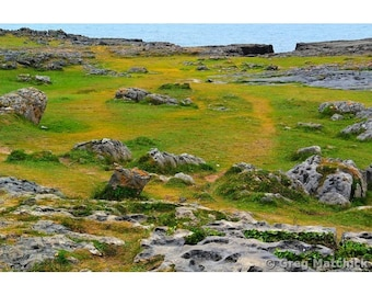"""Fine Art Color Landscape Photography of the Burren in County Clare Ireland - """"The Burren 1"""""""