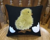 Spring Arrival...Baby Chick Pillow / Easter