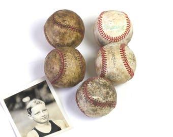 Old baseballs vintage baseballs vintage sporting