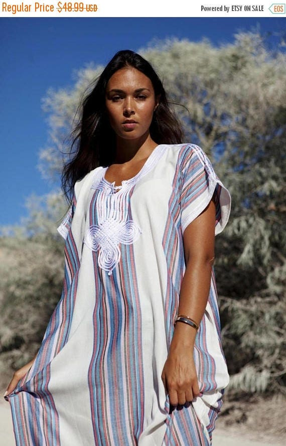 White Kaftan Caftan Autumn Dress-Resort Kaftan, abayas, beachwear, beach cover ups,resortwear, beach kaftan, winter dress