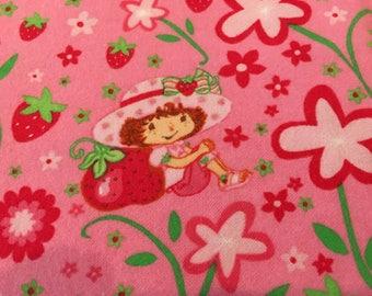 Strawberry Shortcake Fabric Flannel