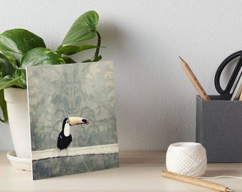 bohemian toucan art board