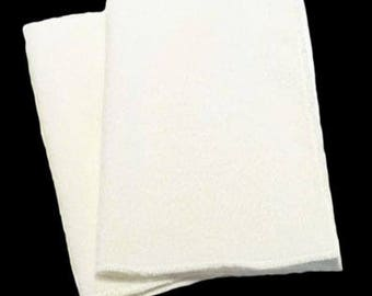 Microfiber Swiffer Sweeper Pads- Set of 2- WHITE- Refill- Reusable- Ecofriendly