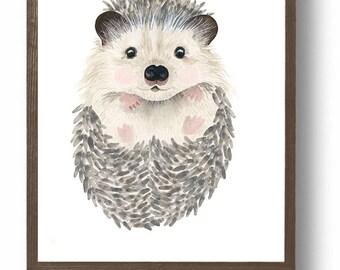 Watercolor Animals Etsy