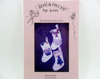 Christmas Stocking Sewing Pattern Bits & Pieces by Joan Grenke