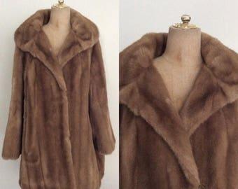 30% OFF 1960's Faux Fur Oversized Coat Size XL XXL Plus Size by Maeberry Vintage