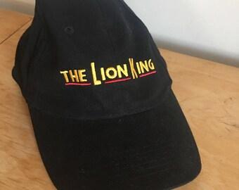 Vintage 90s Lion King on Broadway Musical VIP Snapback, Vintage Disney Baseball Cap, Retro Snapback, Vintage Lion King Merch