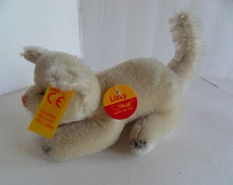 Steiff cat miniature mohair all IDs made in Germany 2250
