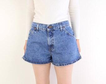VINTAGE Levis Denim Shorts Blue Jeans Short 912