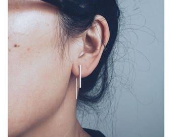 INTRODUCTORY OFFER: The 'Long Line' Ear Threader + 'Short Line' Stud Earring Set