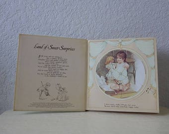 Land of Sweet Surprises, A Revolving Picture Book By Ernest Nister, 1983 Reproduction.