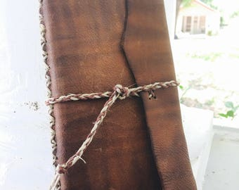Leather Bound Note Book- Diary- Forgotten Secrets