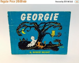 SUMMER BLOWOUT Vintage Children's Book Georgie by Robert Bright 1970 Softcover