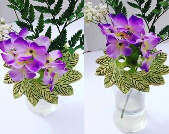 Flower Frog - Flower Arrangement - Flower Ring - Flower Holder - Floral Frog - Arrangement for Flowers - Planter - Planter Ring Frog