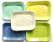 LEAF RING DISH ///  Soap Dish,  Spoon Rest, Sponge Holder, Ring Dish, Trinket Dish, Ring Holder, Jewelry Dish