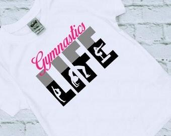Gymnastics Shirt - Gymnast Gifts - Gymnsatics - Birthday Gift - Gift for her - Girls Gymnastics Shirts - Gymnastics Gifts - Christmas Gift