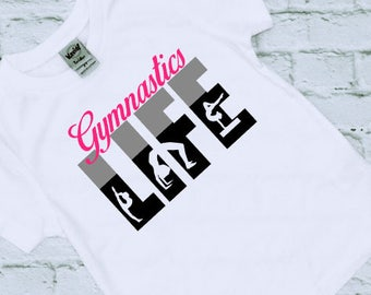 Gymnastics Shirt - Gymnast Gifts - Gymnsatics - Birthday Gift - Gift for her - Girls Gymnastics Shirts - Gymnastics Gifts - Gymnast Birthday