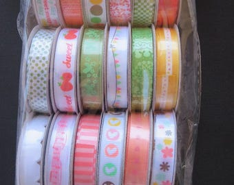 American Crafts Dear Lizzy  Premium Ribbon Collection - Ruban - 89375