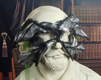 Tattered Wing Leather Mask