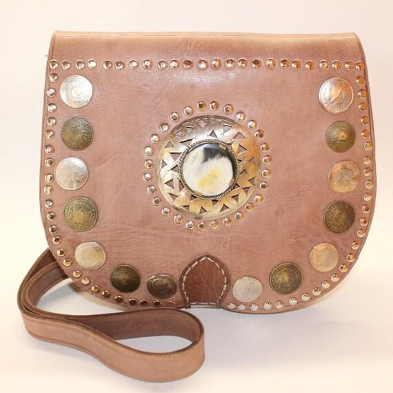 Leather Saddle Bag, Cross Body Bag, Leather Bag, Cross-body Bag, Women Handbag, Vintage style saddle bag,pochette femme cuir