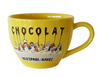 Jars Chocolat Delespaul-Havez Cafe Au Lait Cup Made in France
