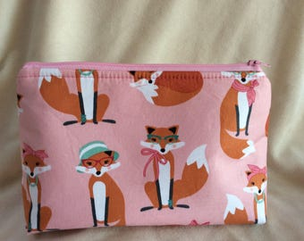 What Does the Fox Say Cosmetic Bag