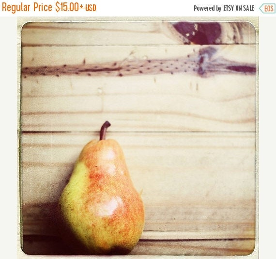 Food Photography Kitchen Art food: Pear Shaped Fine Art Photography Fruit Still life Photography Fruit Wall Art Kitchen wall art fruit