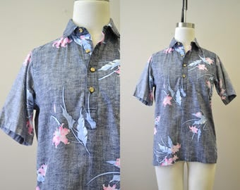 1980s Malihini Hawaii Shirt