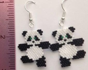 Dancing Panda Earrings